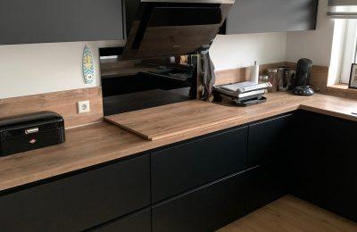 Elegante, moderne norden & aulbur-Wohnküche