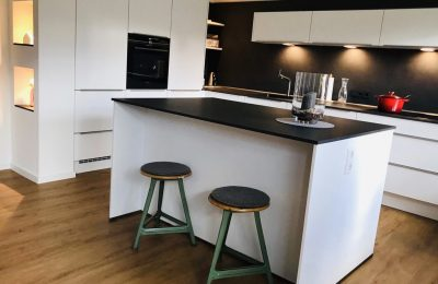 – elegant & gradlinig – offene norden & aulbur Wohnküche